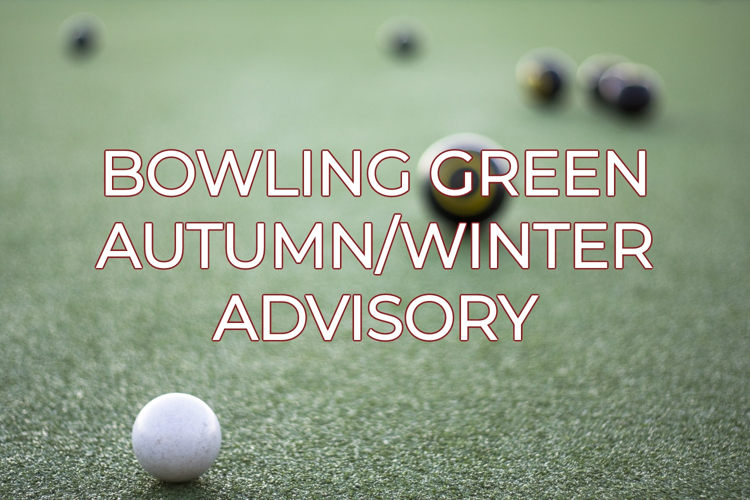 Bowling Green Autumn/Winter Advisory